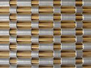 хорошее качество Затвор бича & Опаковая сплетенная ткань провода, «направляет» декоративную сетку металла, плакирование ненесущей стены лифта в продаже
