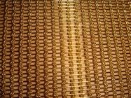 хорошее качество Затвор бича & Сетка сплетенная оплеткой архитектурноакустическая для плакирования фасада, латунной декоративной сетка кабеля веревочки сплетенная в продаже