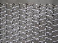 хорошее качество Затвор бича & Сбалансированные конвейерные ленты металла Weave, поясы ячеистой сети потека цепные для хоппера нижней золы в продаже