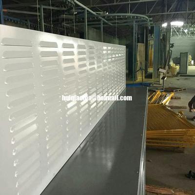 Китай Пефорированная жалюзи абсорбтивная акустическая стена барьера шума дистрибьютор