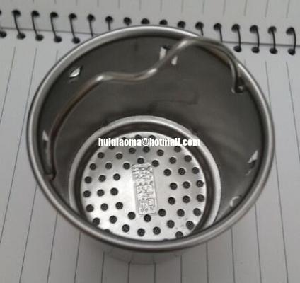 Китай Пефорированный нержавеющей сталью фильтр стрейнера чашки|Стрейнер Инфузер чашки щелочной воды дистрибьютор